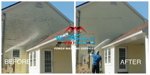 Power washing in Wilbraham MA