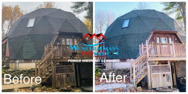 Roof Cleaning and Deck Cleaning Wilbraham, MA